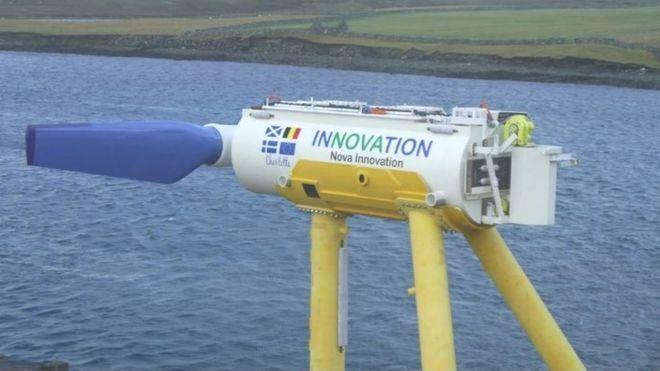 Турбина гидроэлектростанции Nova Innovation