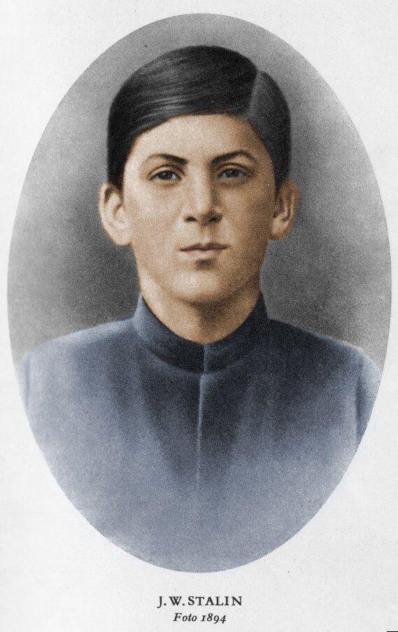 Сталін – учень духовної семінарії