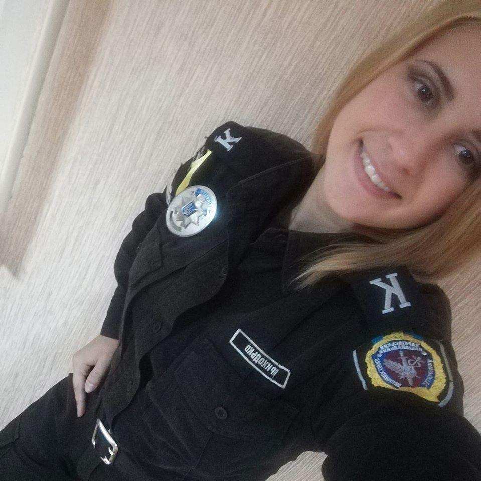 Аліна мріяла стати поліцейською ще зі школи