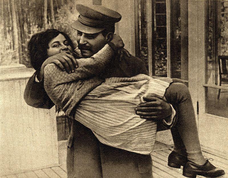 Сталін з дочкою Світланою, 1935 рік