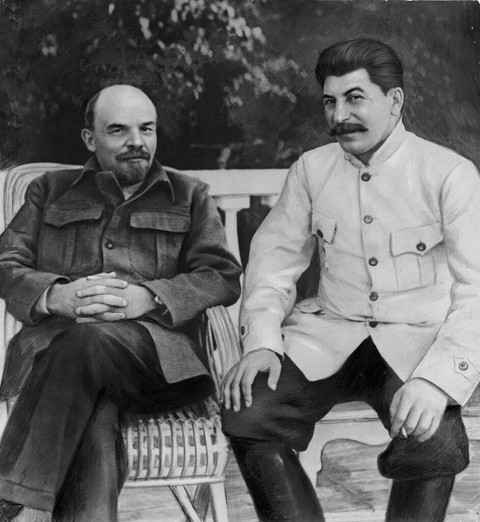 Ленін і Сталін