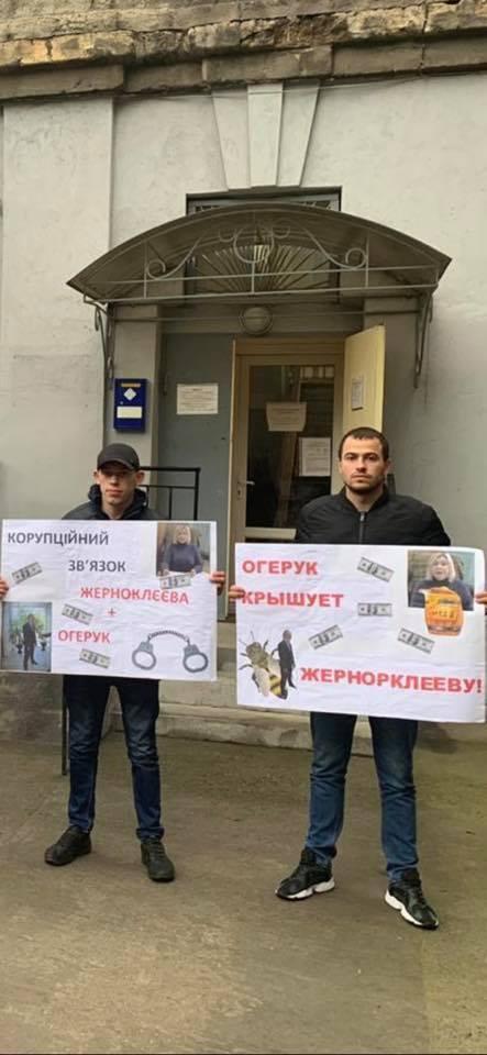Активісти в Одесі протестують проти продовження роботи Жерноклєєвої після проваленої державної атестації