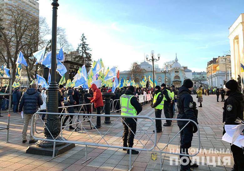 Митинги под Радой