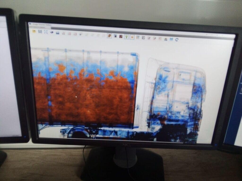 Скан-система для виявлення контрабанди