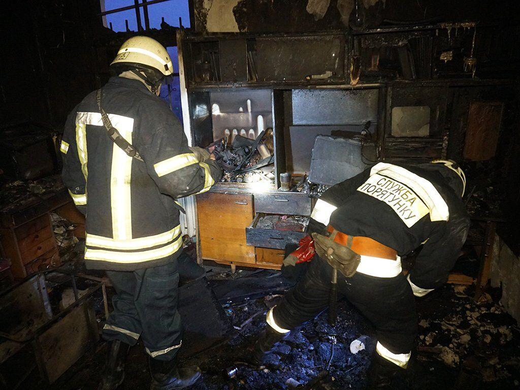 В Днепре мужчина заживо сгорел в собственной квартире