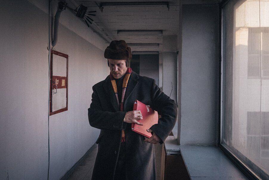 """Іван Дорн у фільмі Серебреннікова """"Петрови в грипі"""""""
