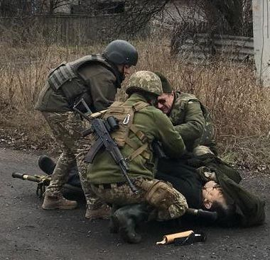 Оккупанты на Донбассе убили мирного жителя