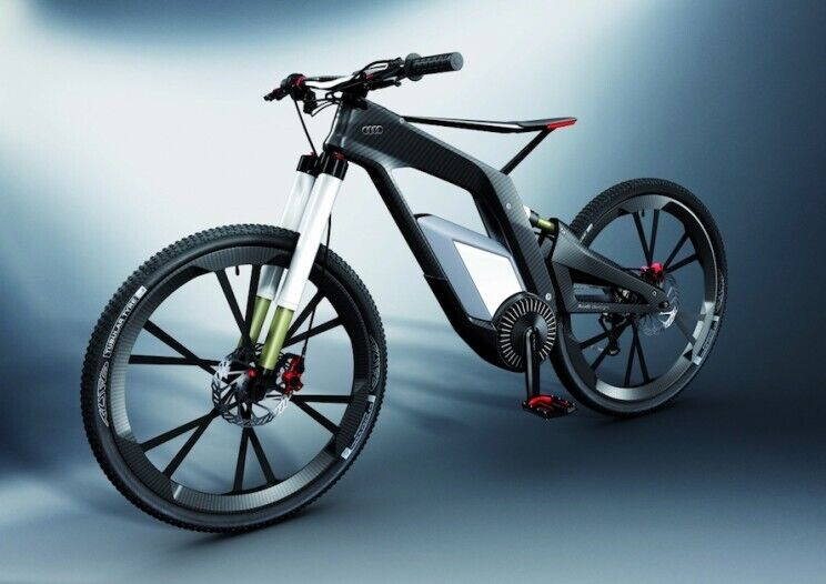 Електричний велосипед Audi