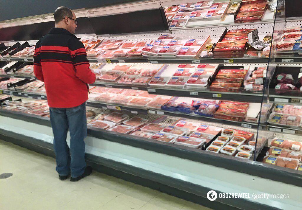 Бройлерные птицы в магазинах продают по 65 грн за килограмм