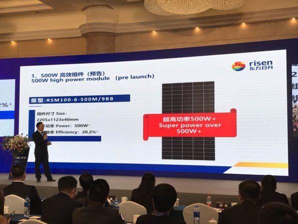 Презентация солнечных панелей Risen Energy