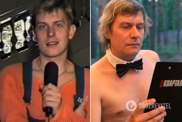 Степан Казанін: як виглядав в 90-ті-е - фото тоді й зараз