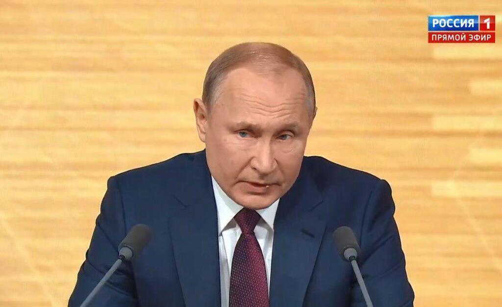 """""""Изображает царя"""": блогер о пресс-конференции Путина"""
