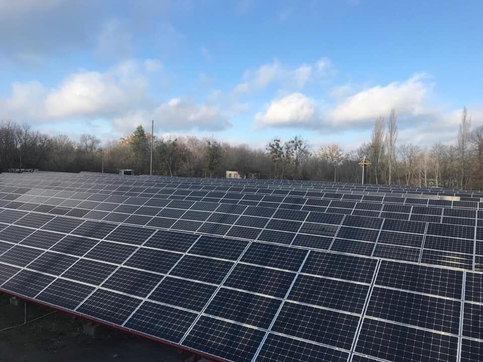 Солнечная электростанция в Чернобыле