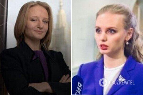 Предполагаемые дочери Путина