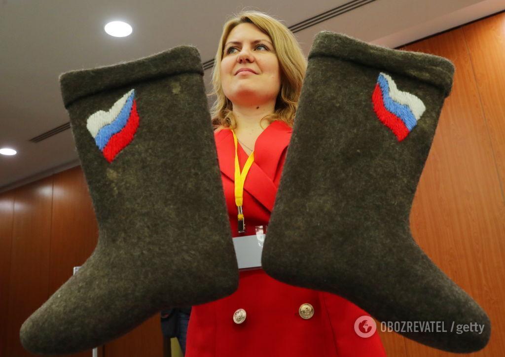 Валенки для Путина