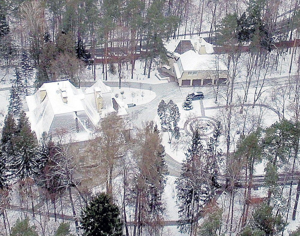 Будинок Горбачова, наданий в довічне користування в Підмосков'ї