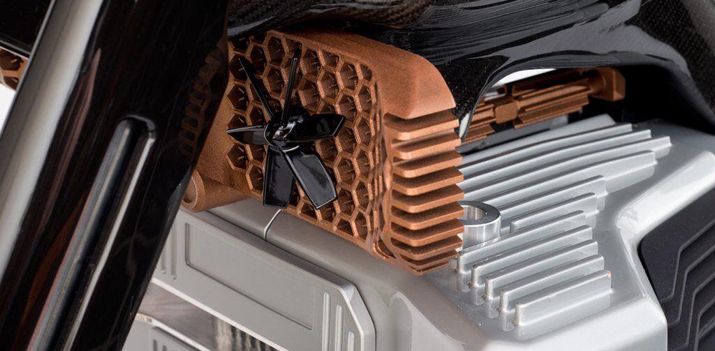 Електричний мотоцикл HyperTEK