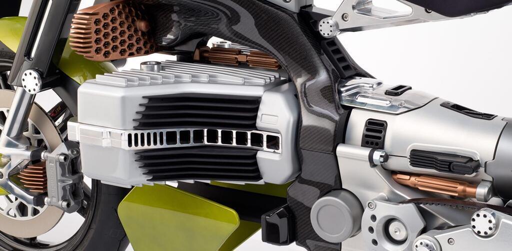 Электрический мотоцикл HyperTEK