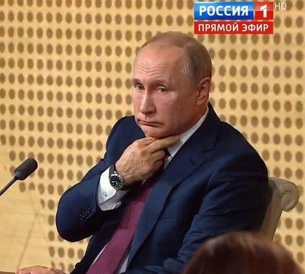 """Тайные знаки"" Путина"