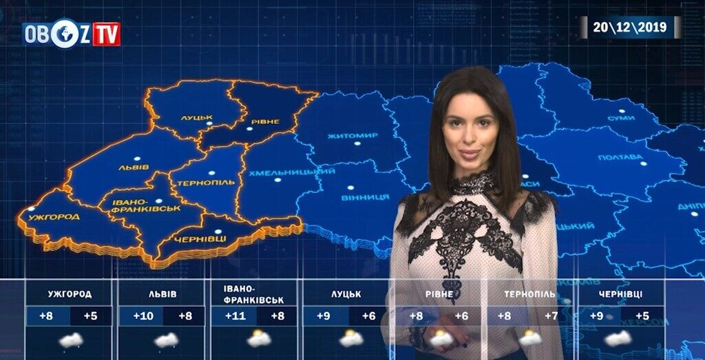 Україною пройдуть дощі: прогноз на 20 грудня від ObozTV