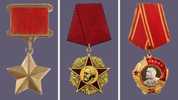 Приклади викрадених медалей