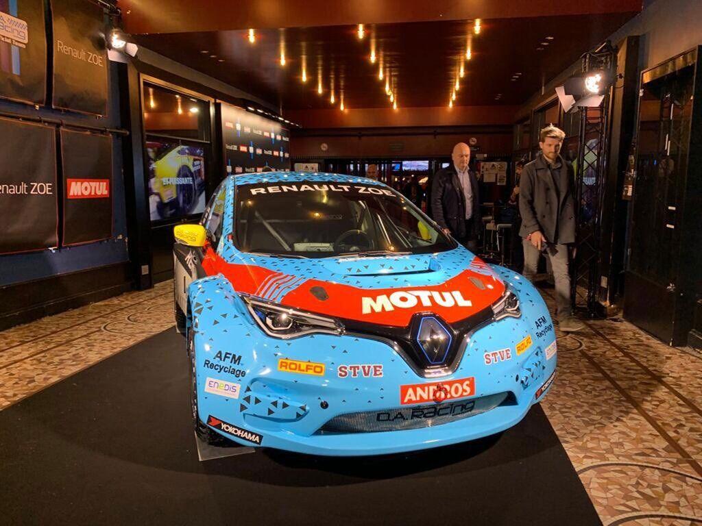 Електрокар Renault Zoe отримав спортивну модифікацію