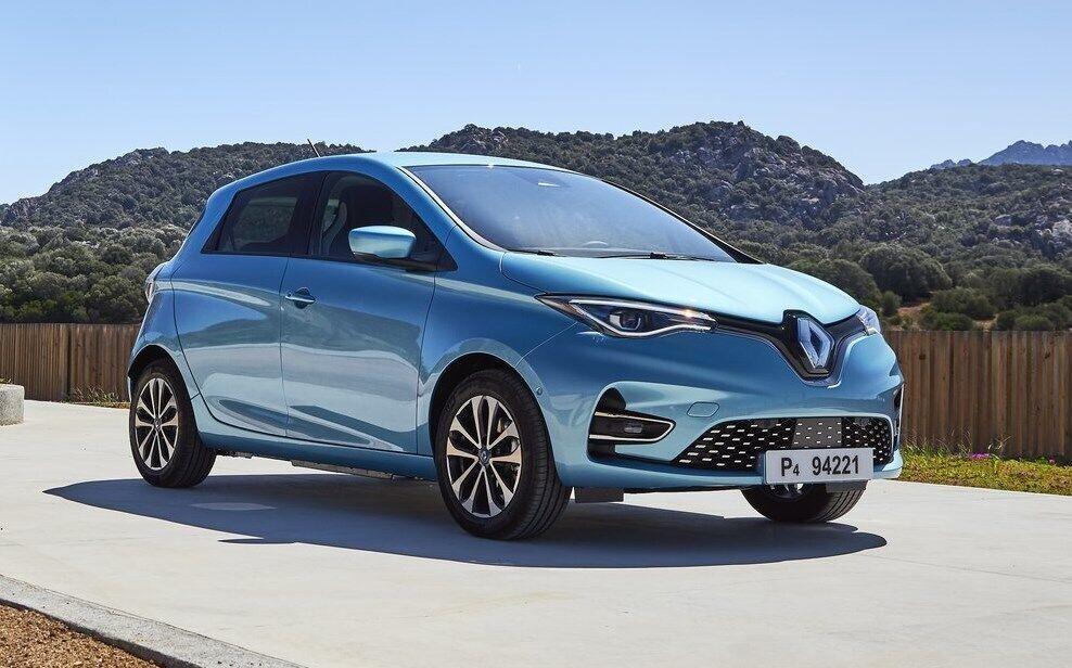 Стандартний електромобіль Renault Zoe 2020 відрізняється більш спокійним кузовом