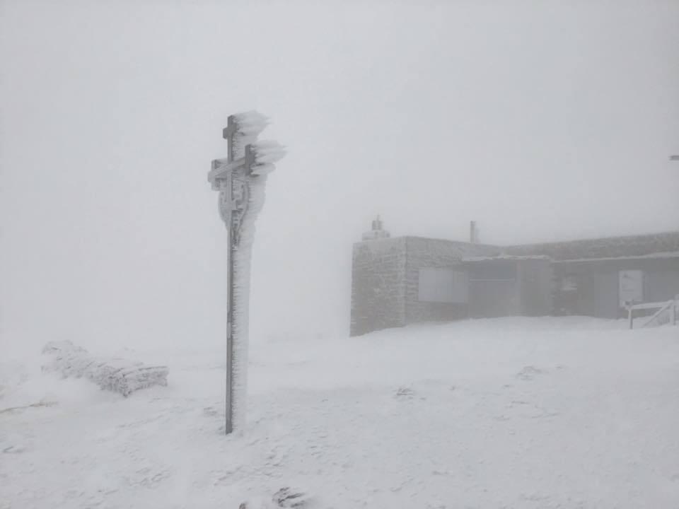 Висота снігового покрову на метеостанції Пожижевській сягає 16 см