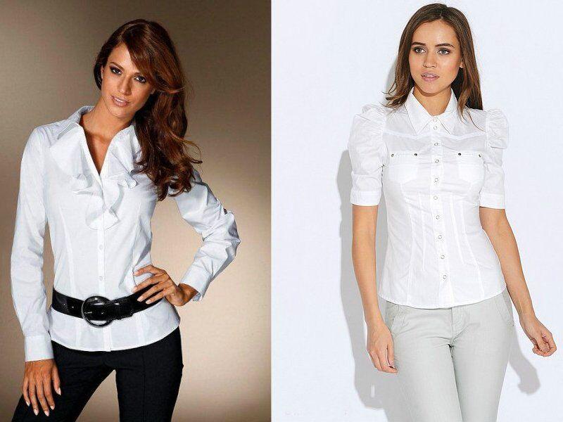 Приталені блузи