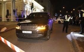 """На месте стрельбы. Убийство произошло возле ресторана """"Марио"""", которым владеет Соболев"""