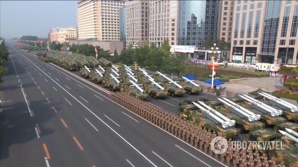 Військовий парад в КНР