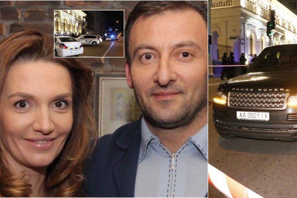 В'ячеслав Соболєв з дружиною Інною. В результаті замаху депутат залишився живий, але загинула трирічна дитина
