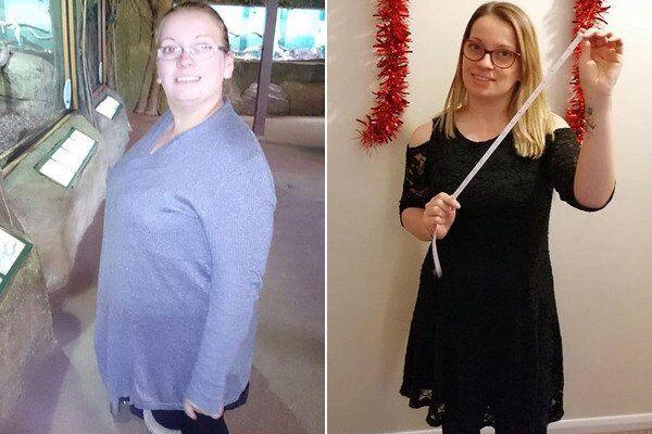 Жінка схудла на 32 кг після принизливої прогулянки з сином: фото до і після