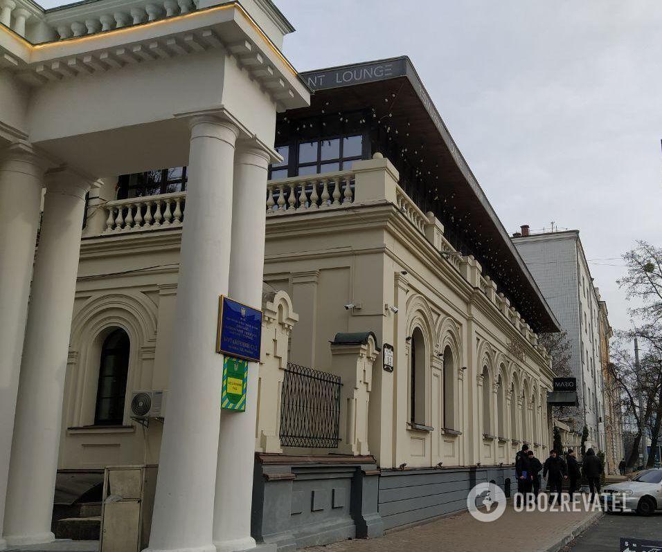 """Ресторан """"Марио"""", возле которого произошло покушение на депутата Соболева и погиб ребенок"""