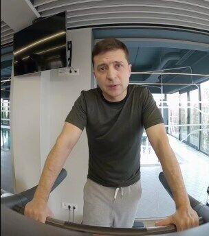 Володимир Зеленський звернувся до українців зі спортзалу