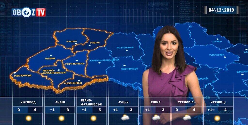 Приморозить до -5 °C: прогноз на 4 грудня від ObozTV