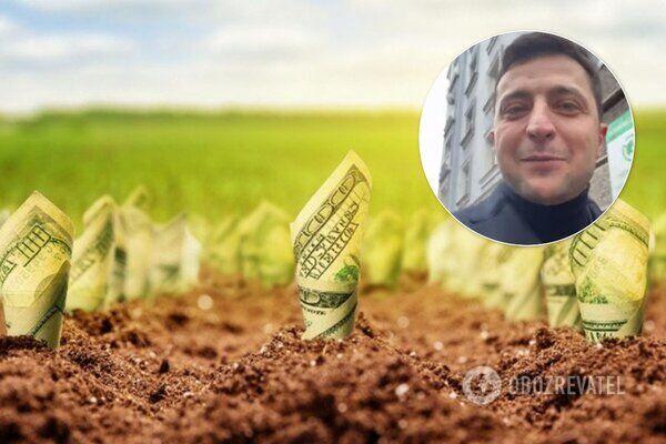 Зеленский уменьшит концентрацию земли у украинцев: кого коснется