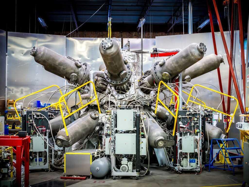 Опытная установка реактора ядерного синтеза General Fusion