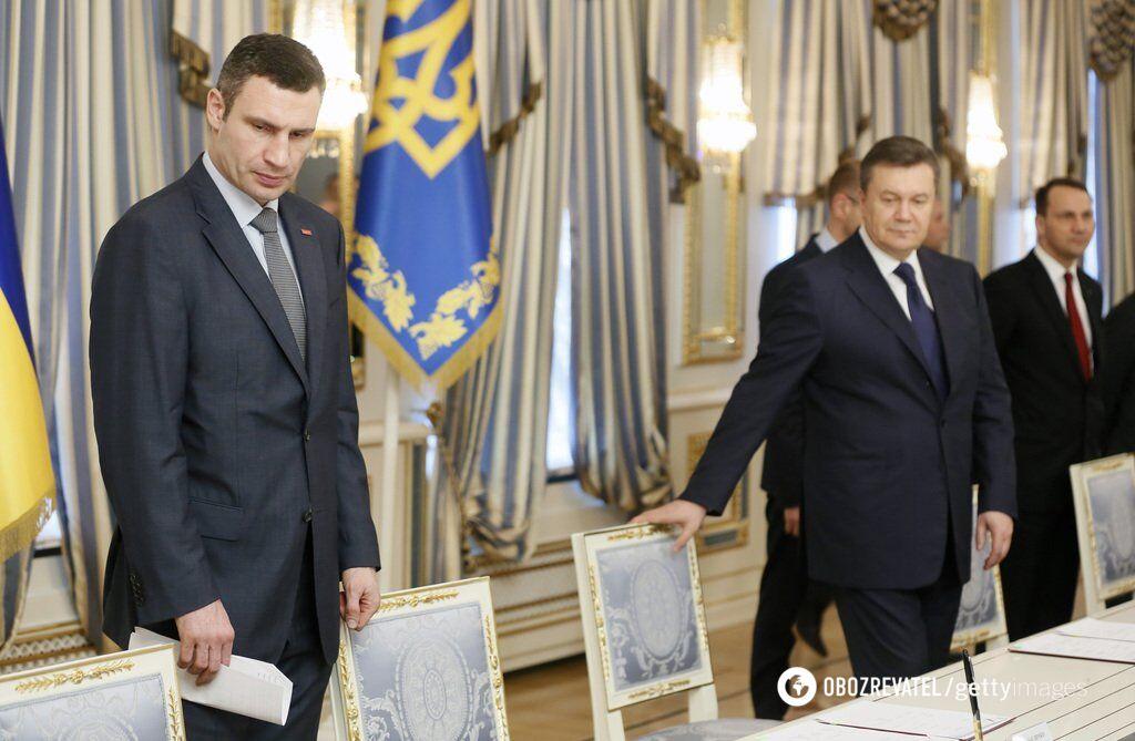 Зустріч Януковича з лідерами Майдану