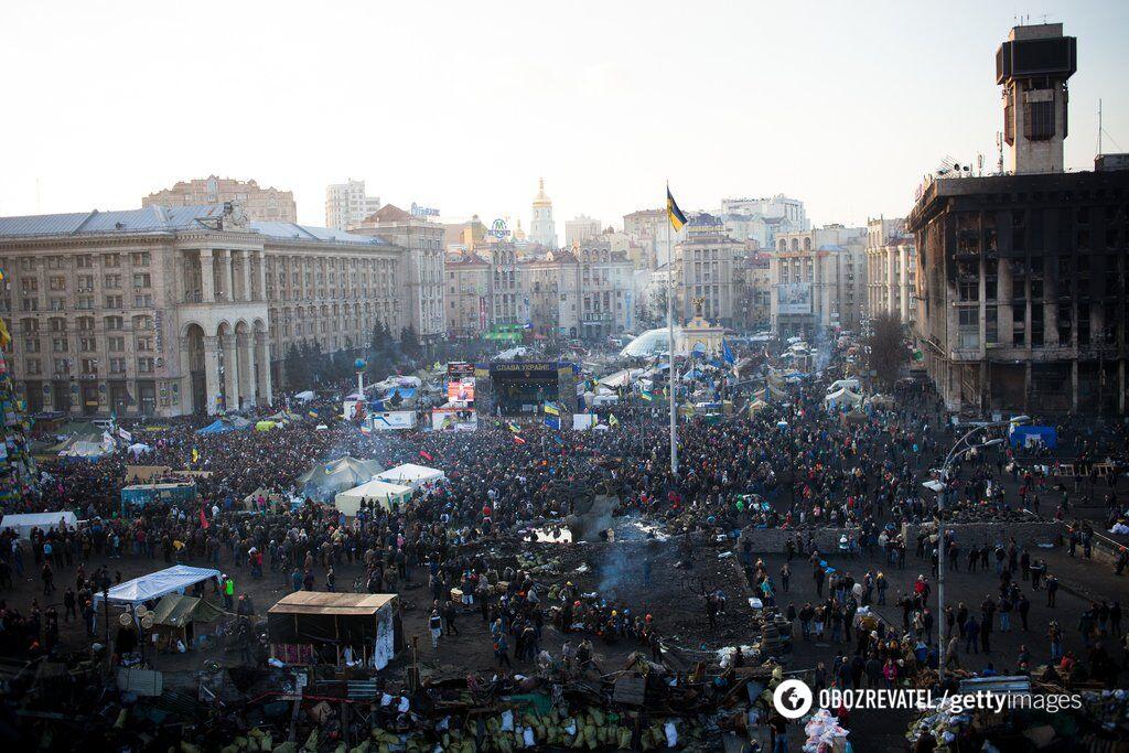 Протесты на Майдане в 2014 году