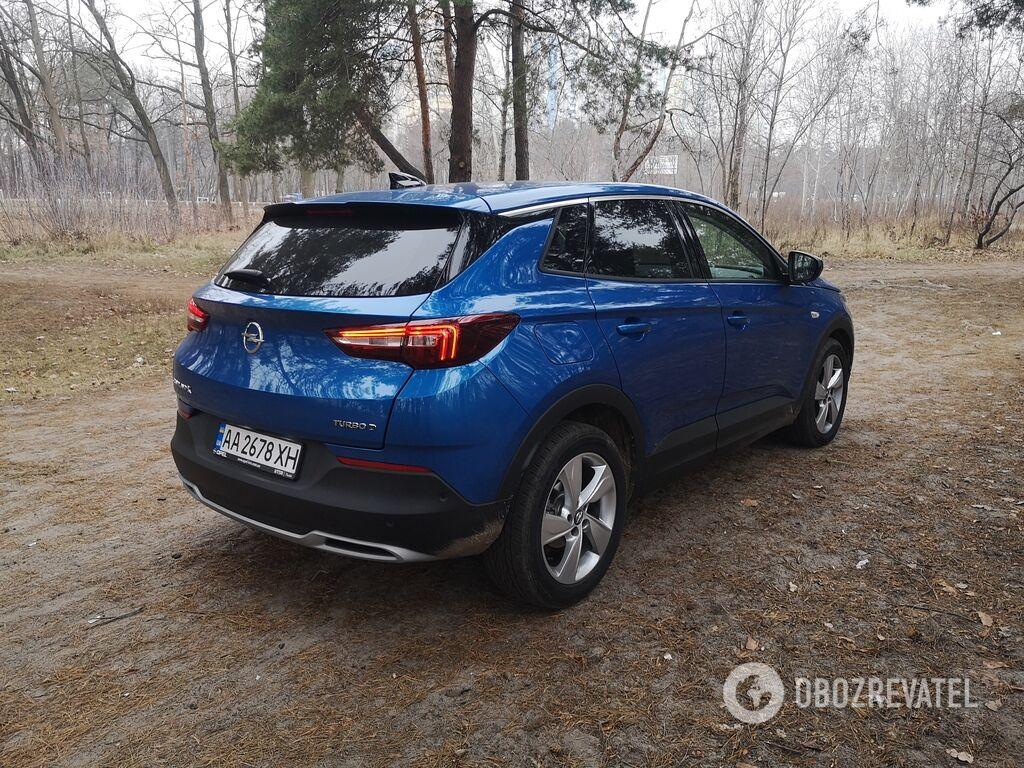 Opel Grandland X создан на модульной платформе концерна PSA