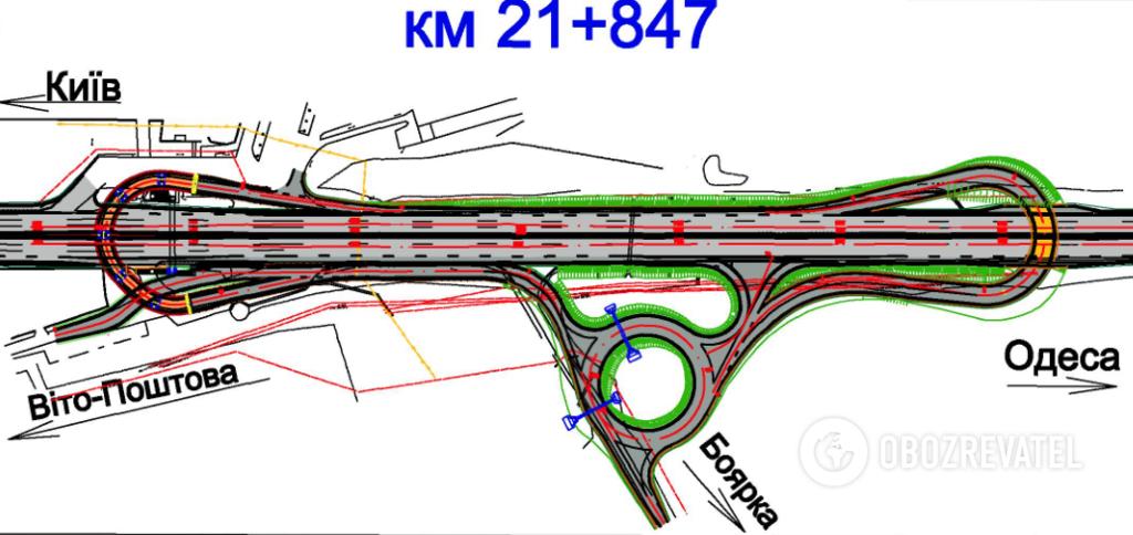 Так выглядит проект транспортного узла возле Южного кладбища