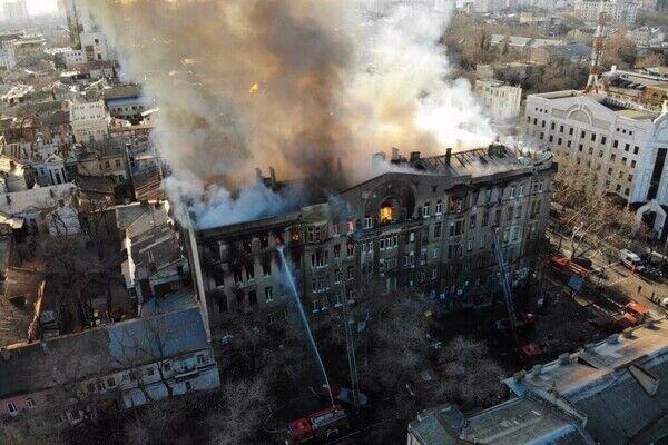 В день пожара, 4 декабря, на занятия должны были явиться 230 студентов