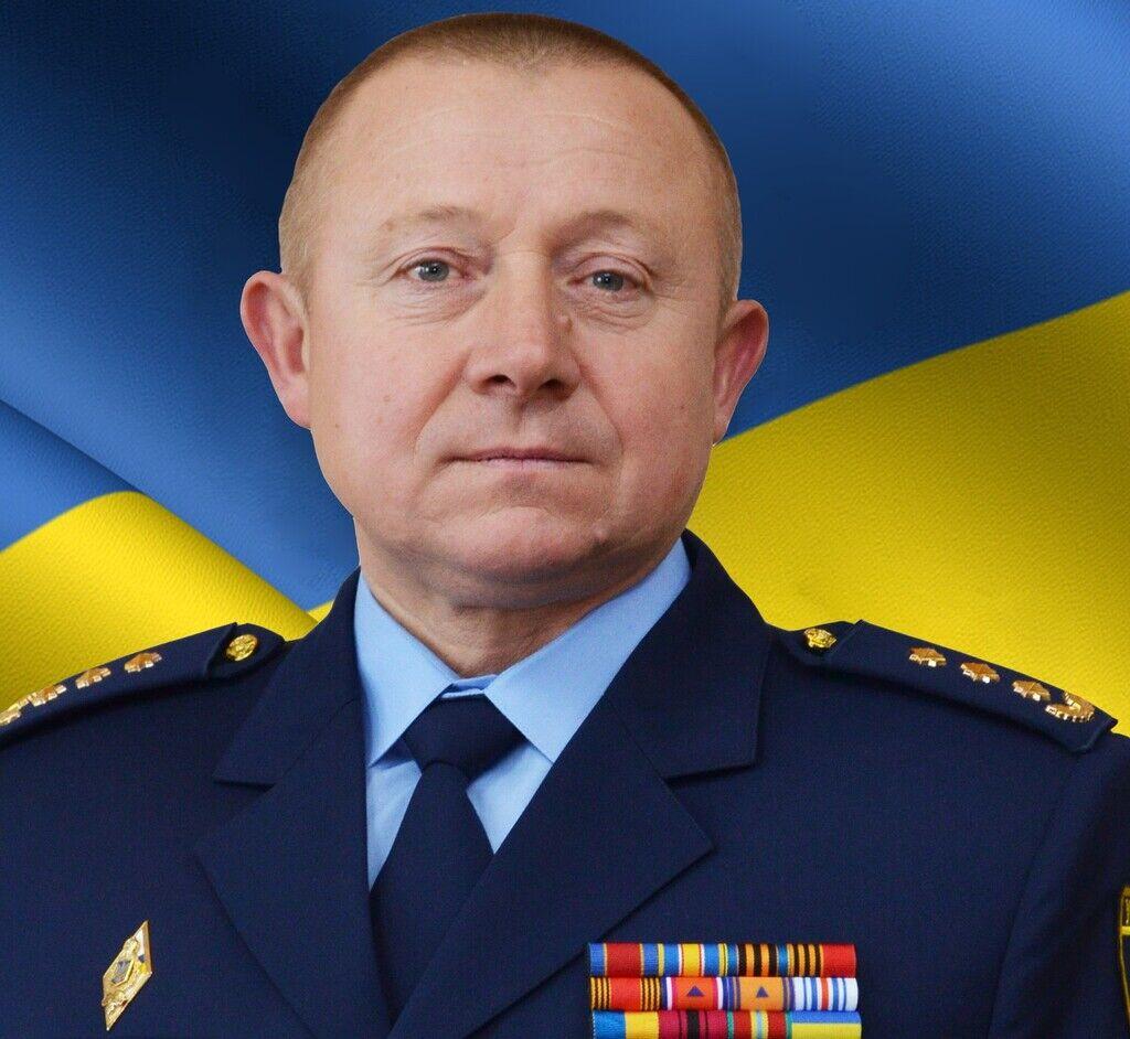 Новый начальник одесского управления ГСЧС Вадим Шулюк