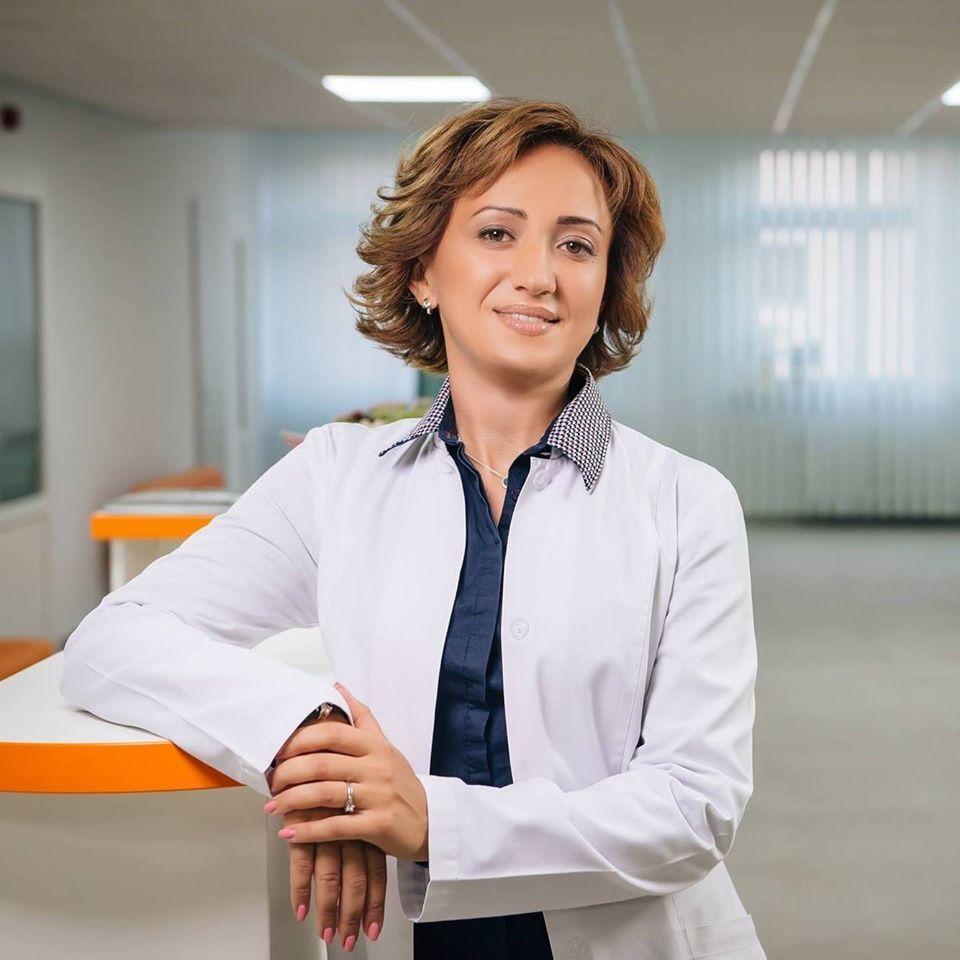 Онкогінекологиня Катерина Харченко