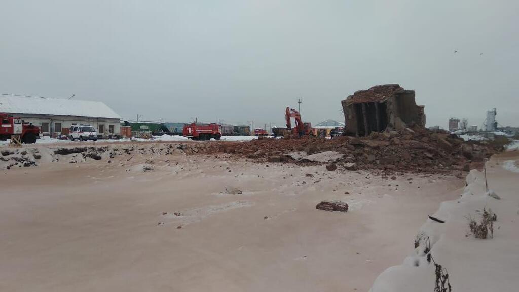 В Омській області обвалилася будівля на території заводу