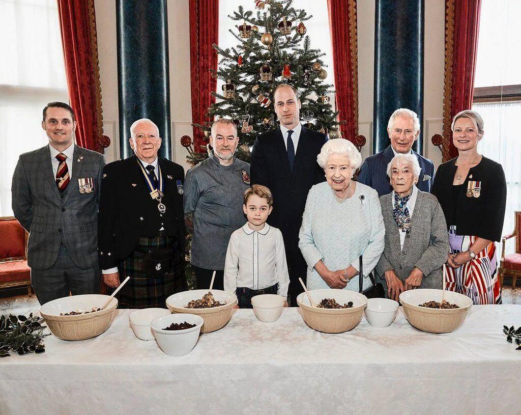 Королівська родина – різдво
