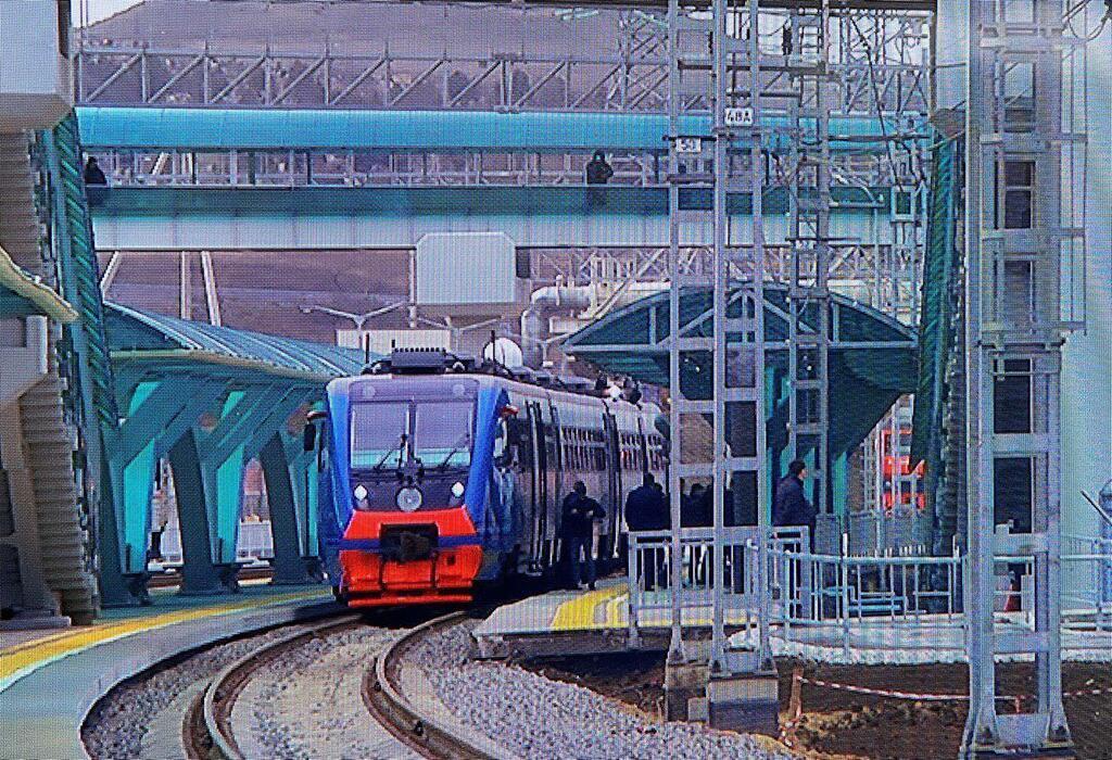 Поезд, на котором поехал Путин