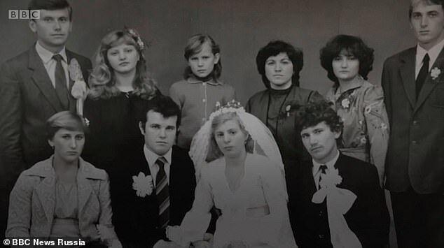 Свадебное фото Василия и Людмилы Игнатенко