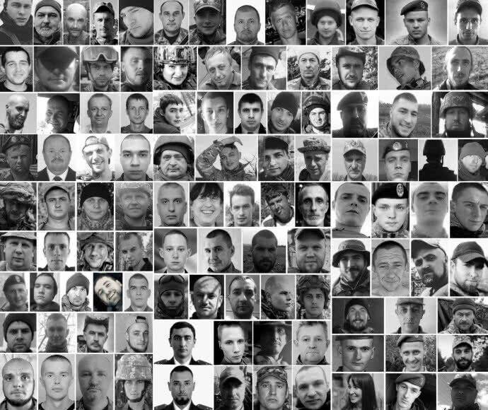 Появились фото всех погибших за 2019 год на Донбассе